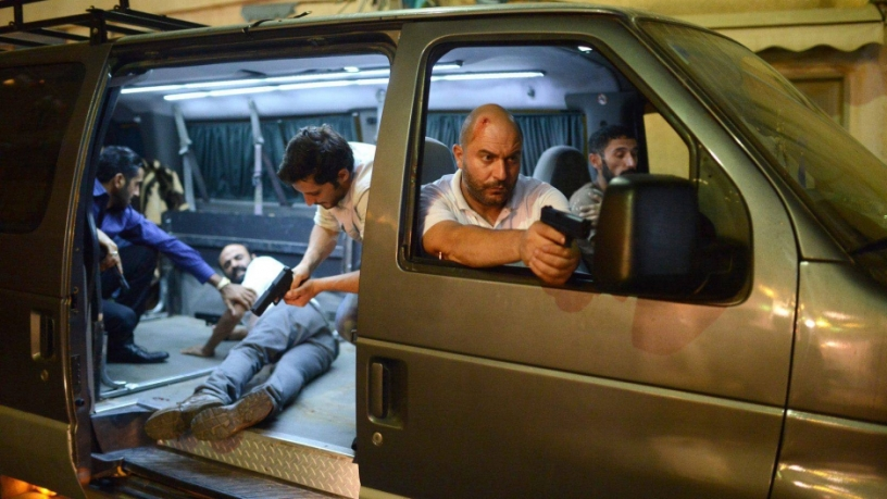 """A scene from the hit Israeli TV show """"Fauda."""" Credit: Courtesy of Yes"""