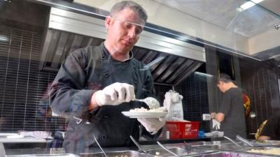 Chef Wareef Kassem Hameedo. Credit: Lauren Bohn
